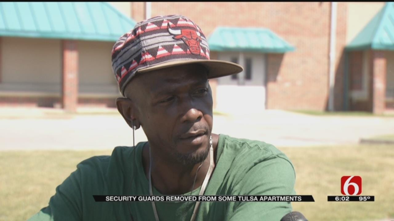 Some Residents Concerned After Security Removed From Tulsa Properties