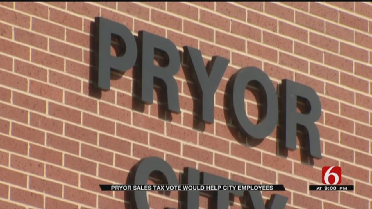 City of Pryor Considers Layoffs As Sales Tax Vote Nears