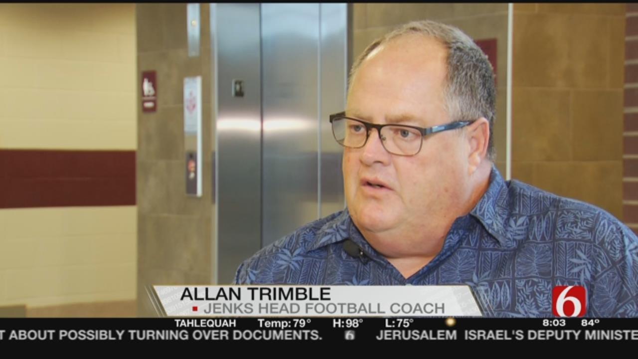 Jenks' Allan Trimble Leads Prayer Vigil For Deadly Crash Victims
