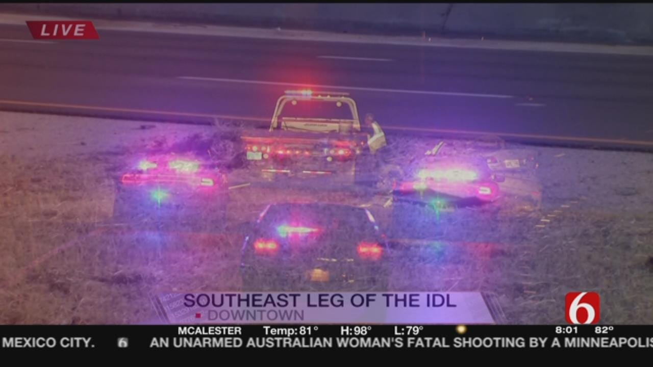 3 In Hospital After Crash On IDL