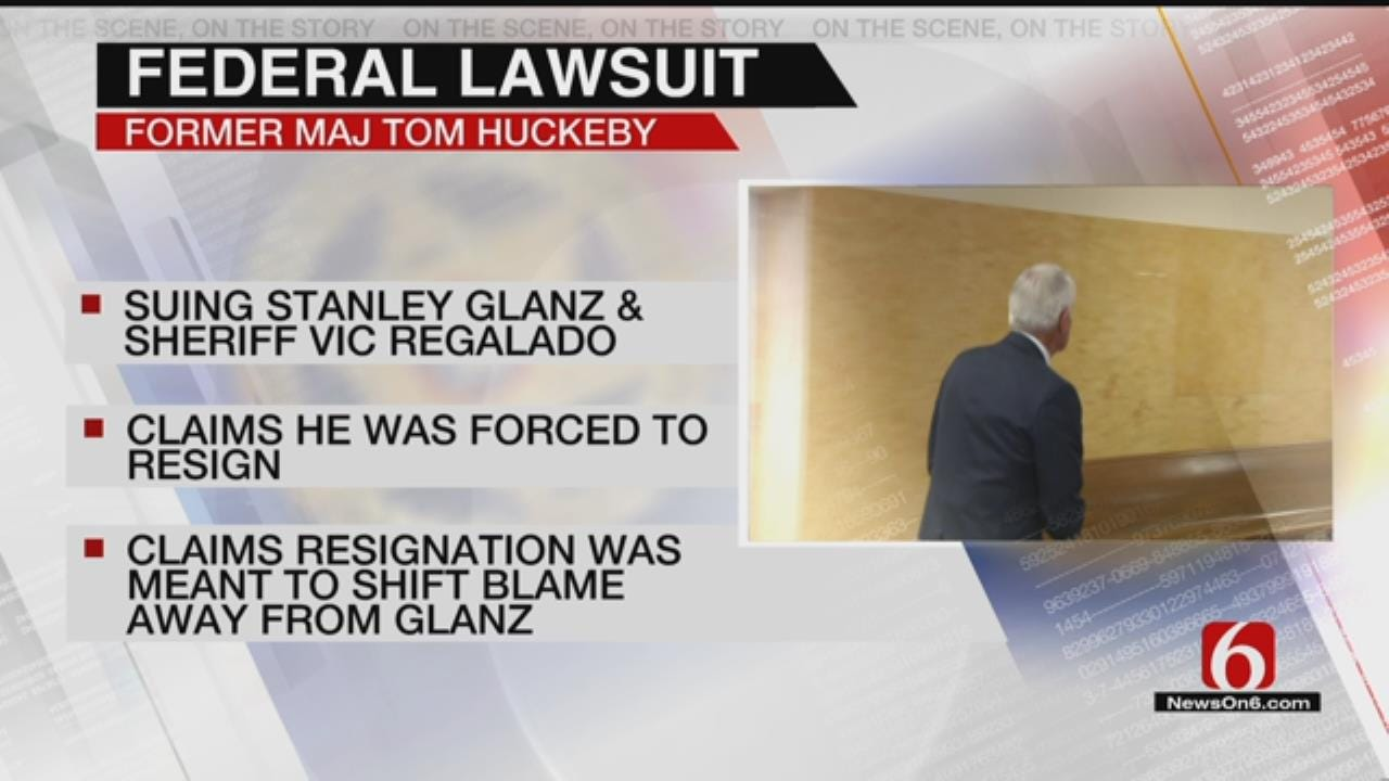 Lawsuit: Ex-TCSO Major Told To 'Take The Hit' For Deposed Sheriff