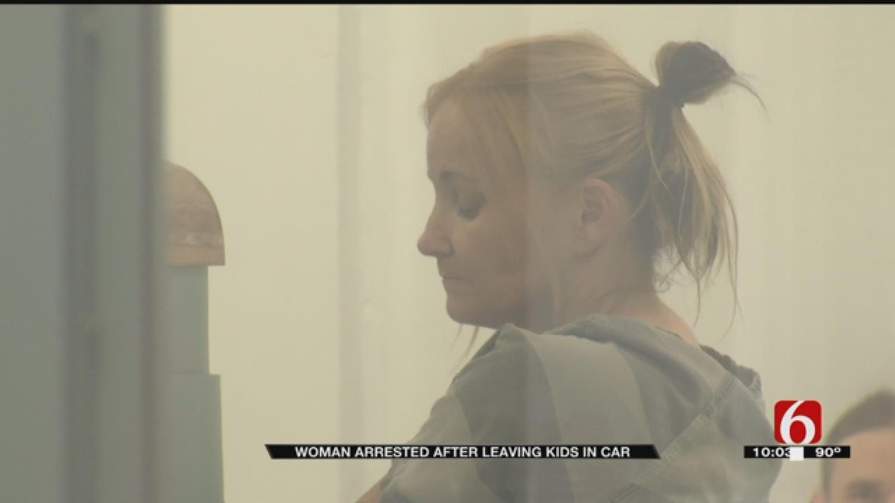 Woman Leaves Two Kids In Car Outside of Courthouse