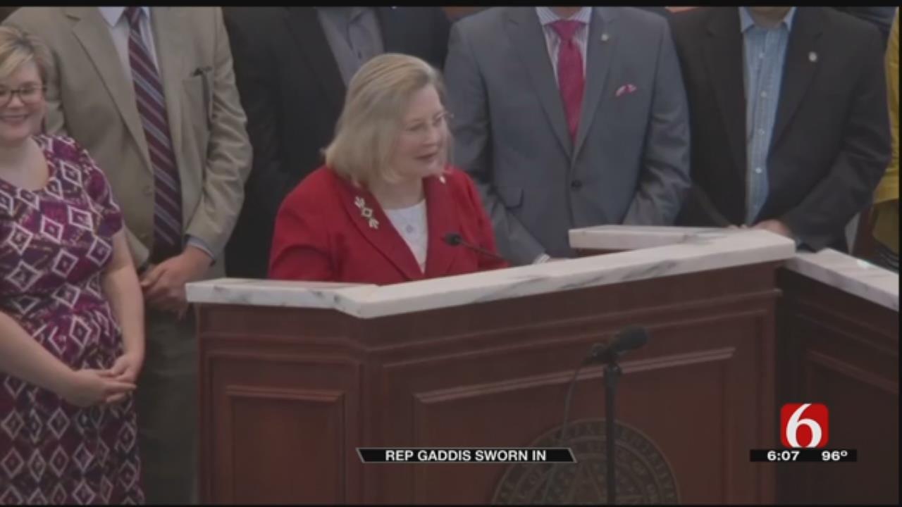 Representative Karen Gaddis Sworn In Wednesday