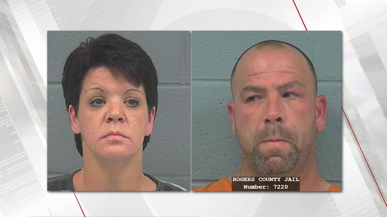 Lori Fullbright: Rogers County Couple Arrested For Child Abuse & Neglect