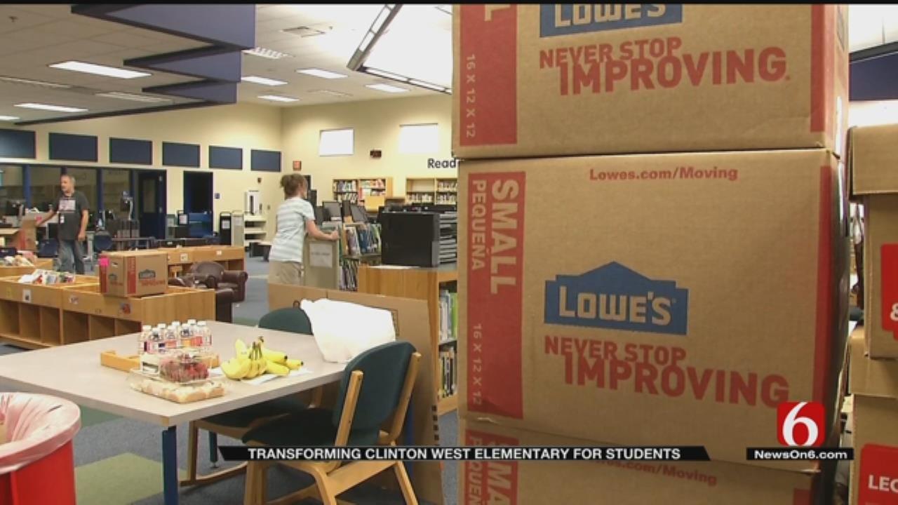 Crews Transforming TPS Middle School Into Elementary School