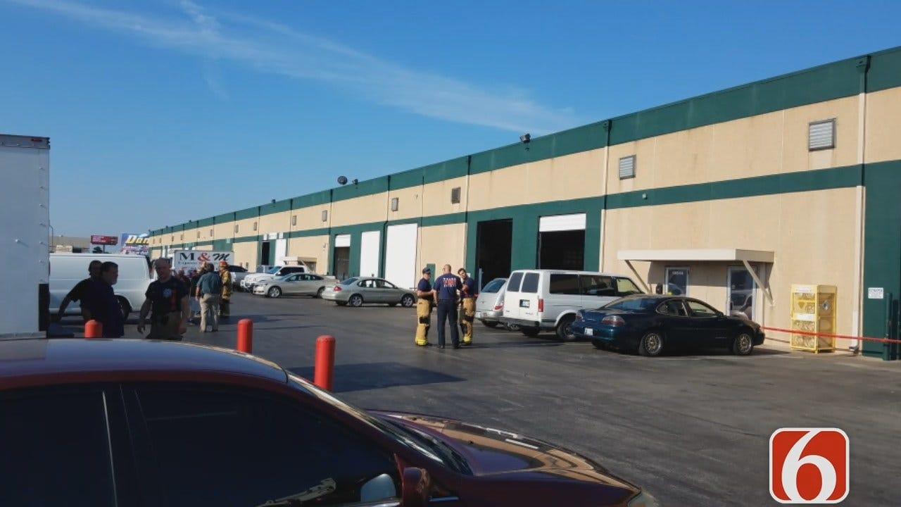 Dave Davis: TFD Responds To Nitroglycerin Spill Inside Tulsa Building