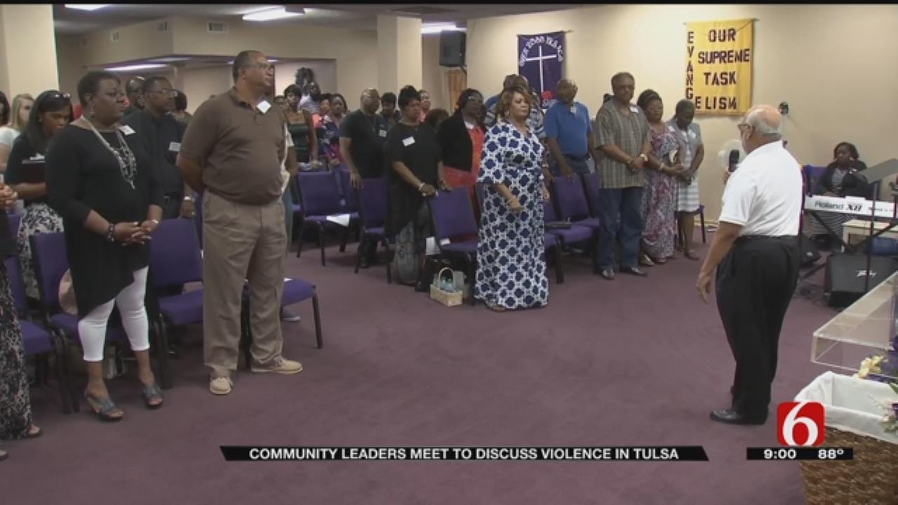 Tulsa Pastors Gather In Effort To End Violence