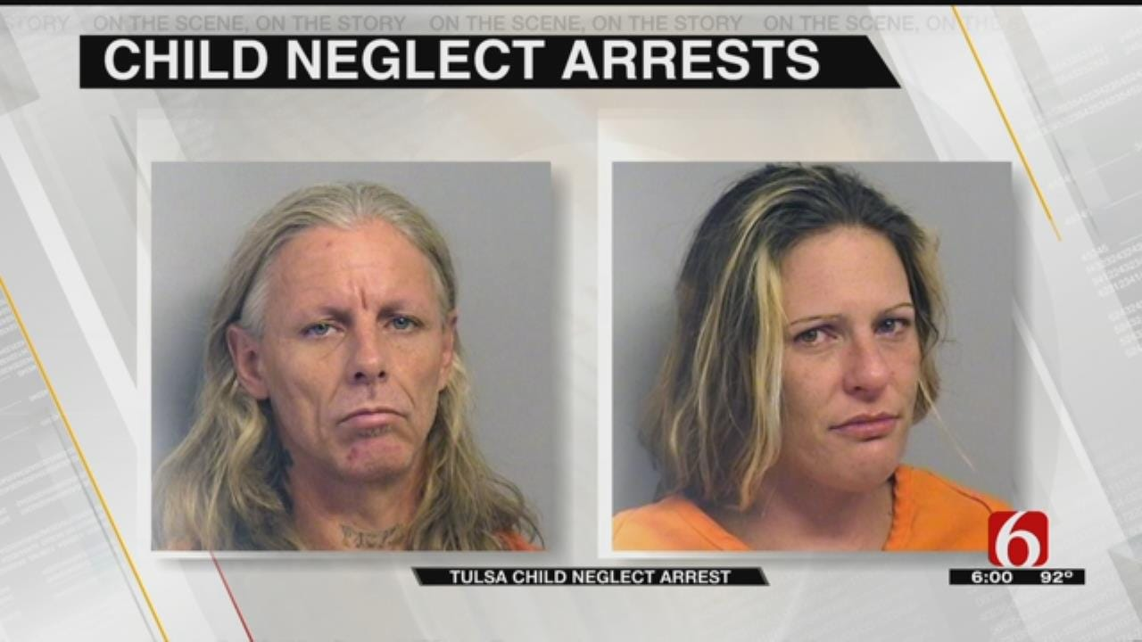 Maggots, Feces Found In Jailed Tulsa Couple's Home