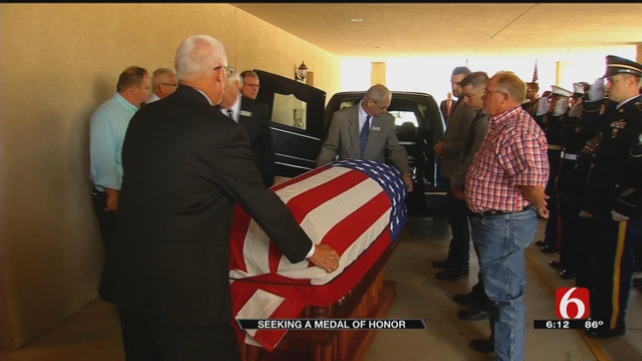 Death March Prisoners Deserve Medals Of Honor, Veteran's Grandson Says
