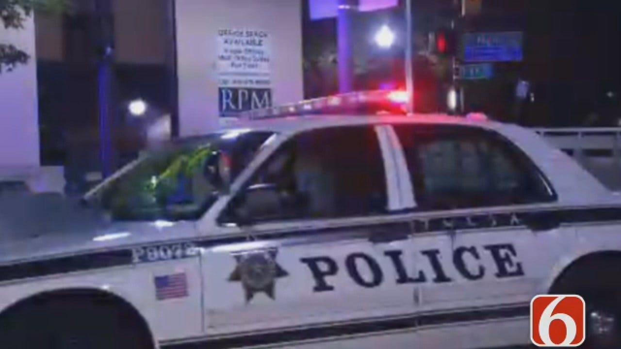 Dave Davis Reports On Downtown Tulsa Vandalism Arrest