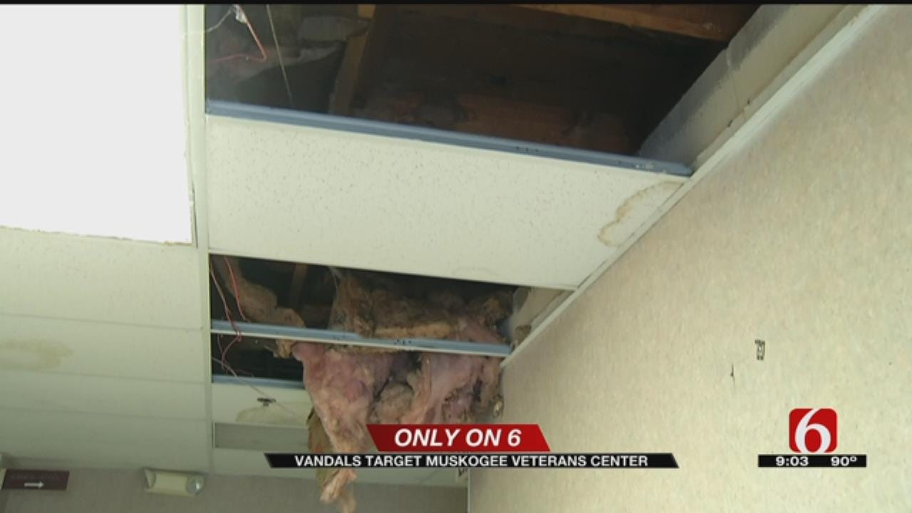 $60 Thousand Worth Of Damage After Vandalism Of Green Country Veterans Center