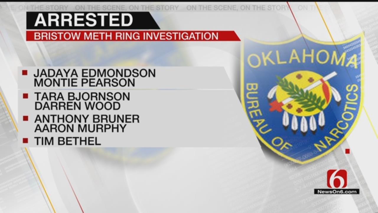 7 Taken Into Custody In Bristow Meth Bust