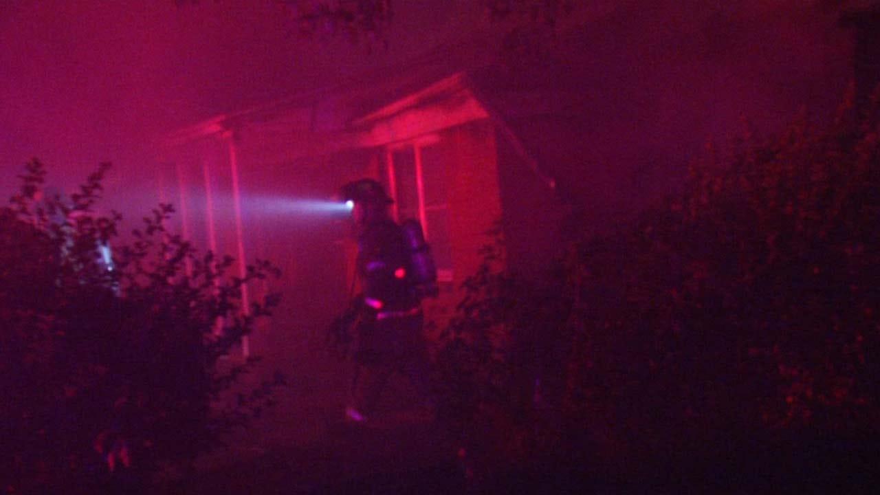 Dave Davis Reports On Tulsa House Fire