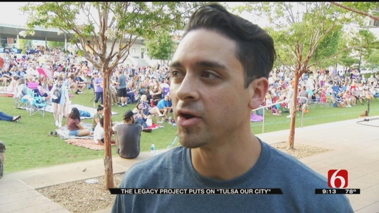 Hundreds Attend 'Tulsa Our City' Production At Guthrie Green