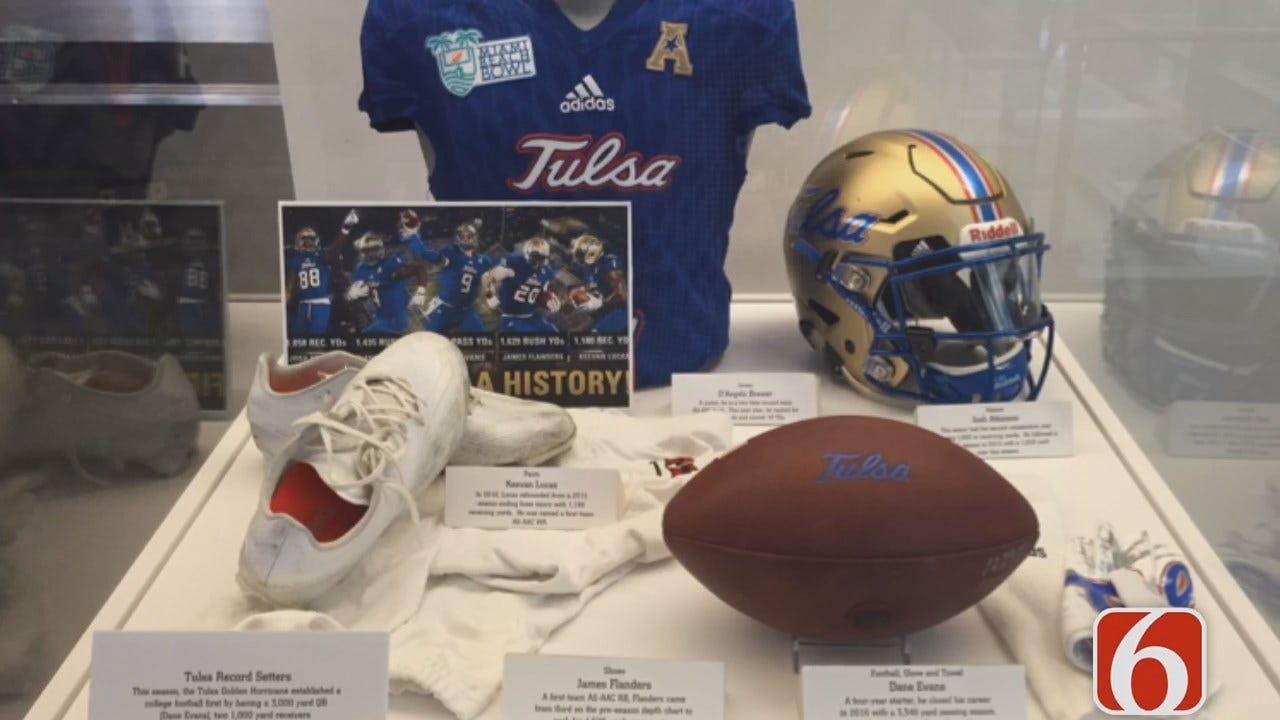 News On 6's Harold Kuntz Visits College Football Hall Of Fame