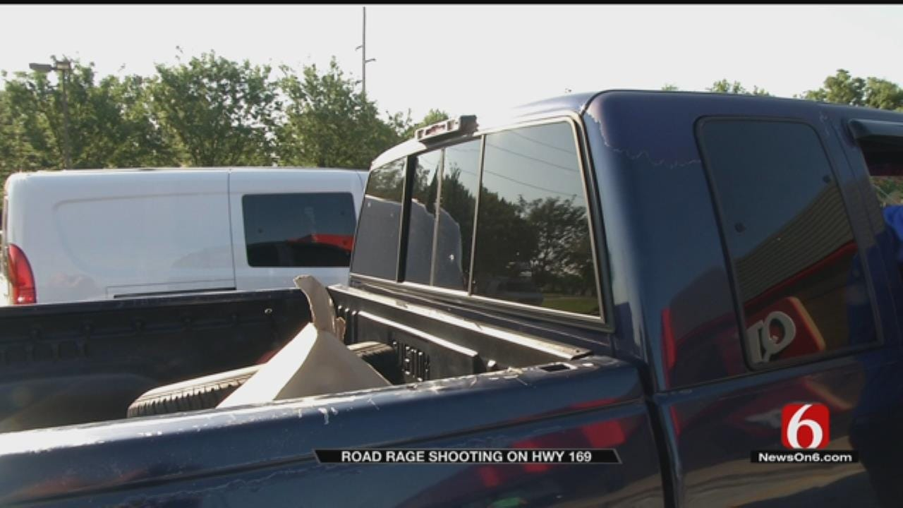 Driver Says Window Shot Out While Driving On Tulsa Highway