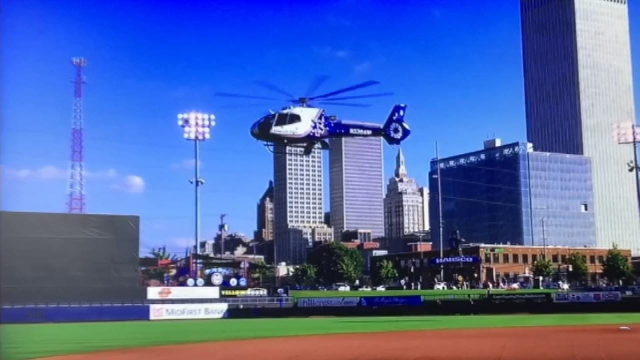 LeAnne Taylor, Joy In The Cause Part Of Special Night At Tulsa Drillers