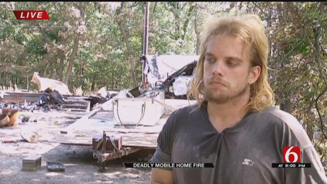 Brother of Wagoner Co. Deadly Fire Victim Mourns