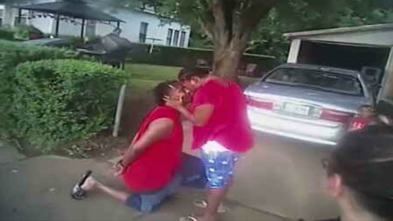 Muskogee Woman Says 'Yes' To Handcuffed Marriage Proposal