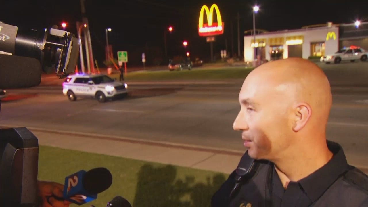 WEB EXTRA: Tulsa Police Cpl. Jeremy Lawson Talks About Crash
