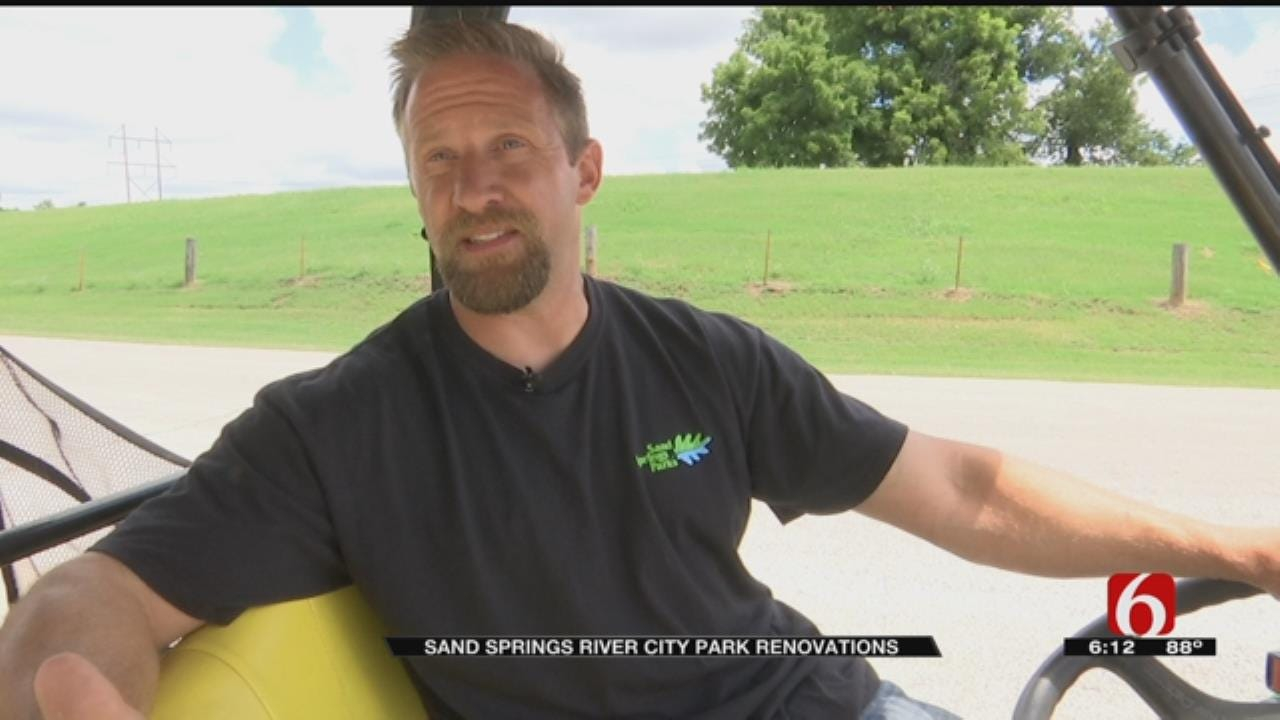 Sand Springs' River City Park Getting $6.2 Million Renovation