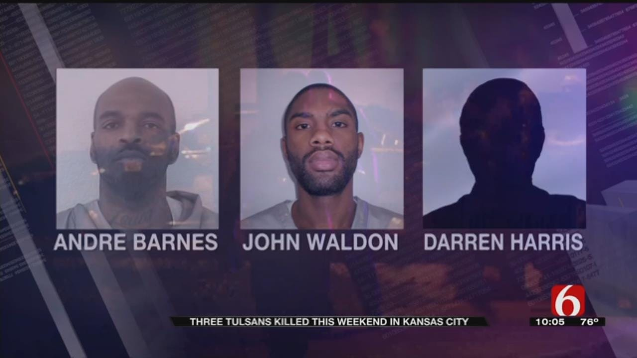 Friends Of Tulsa Men Killed In Kansas City Say Shootings Were Related