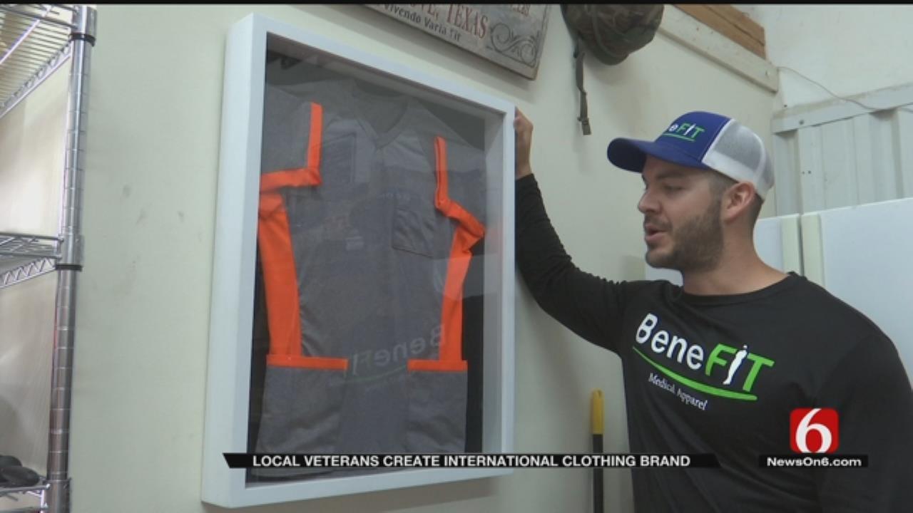 Tulsa Veterans Create Clothing Line For Scrubs