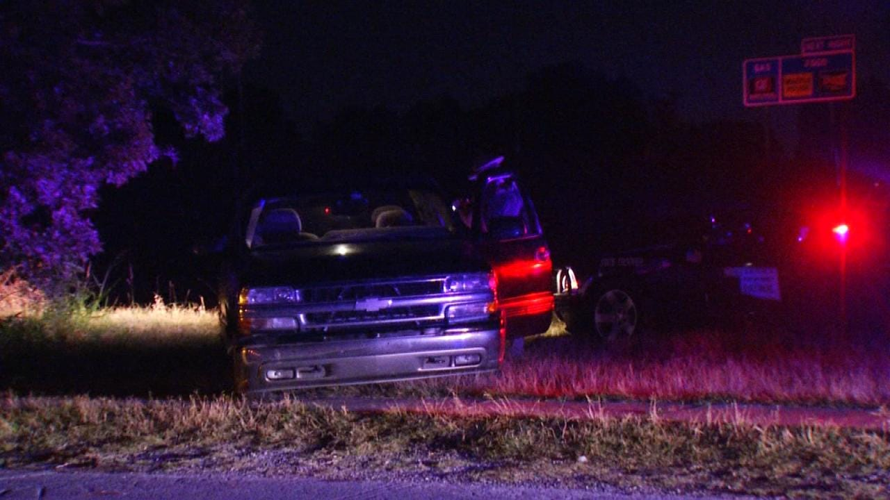 Tulsa Man Leads OHP Troopers On Chase In Stolen Truck