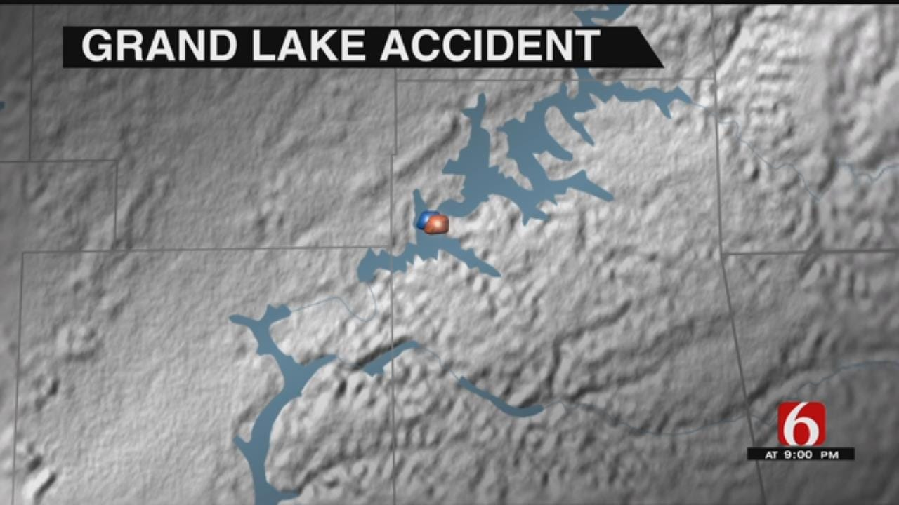 One Flown To Tulsa Hospital After Collision On Grand Lake