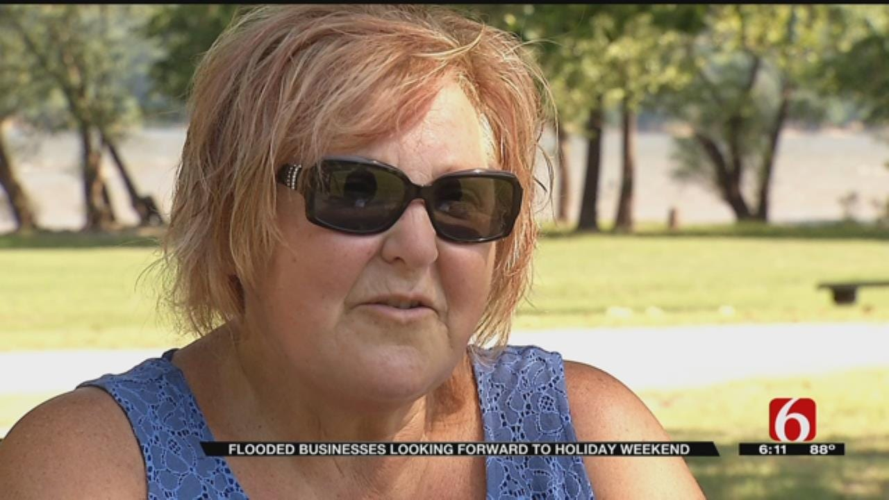 Flooding Causes Issues For Businesses Along Hudson Lake