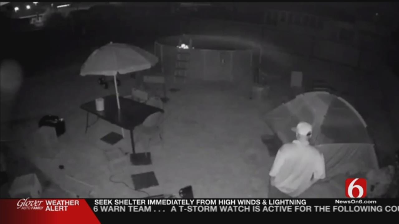 Del City Father Catches Man Preying On Daughter