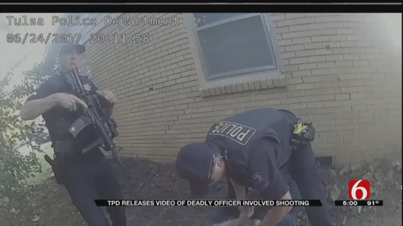 Tulsa Police Release Video Of Incident In Which Suspect Was Shot And Killed