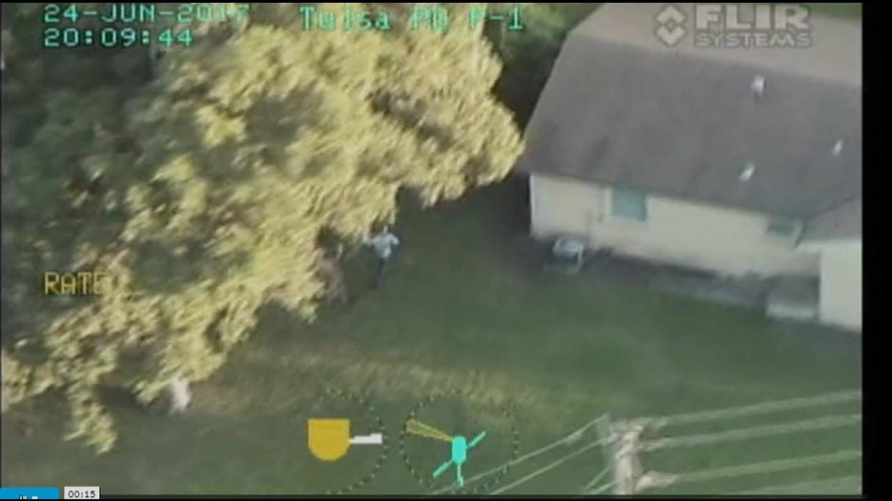 WEB EXTRA: Tulsa Police Helicopter Video