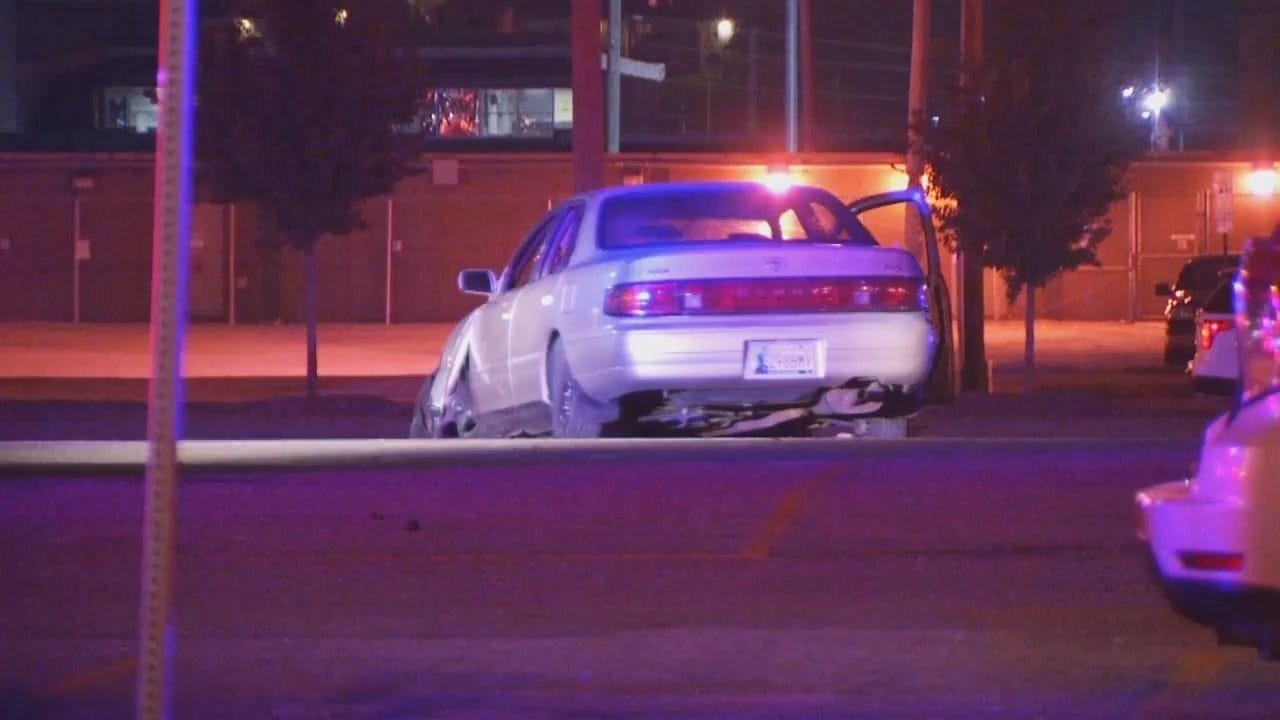 WEB EXTRA: Video From Scene At End Of Tulsa Police Chase