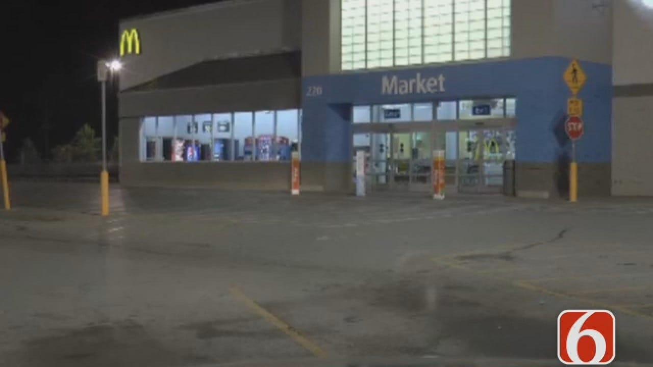 Dave Davis Reports On Body Found In Sand Springs Walmart Restroom