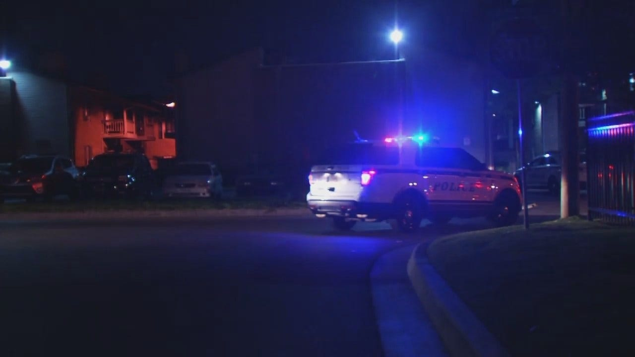 WEB EXTRA: Video From Scene Of Tulsa Park Robbery