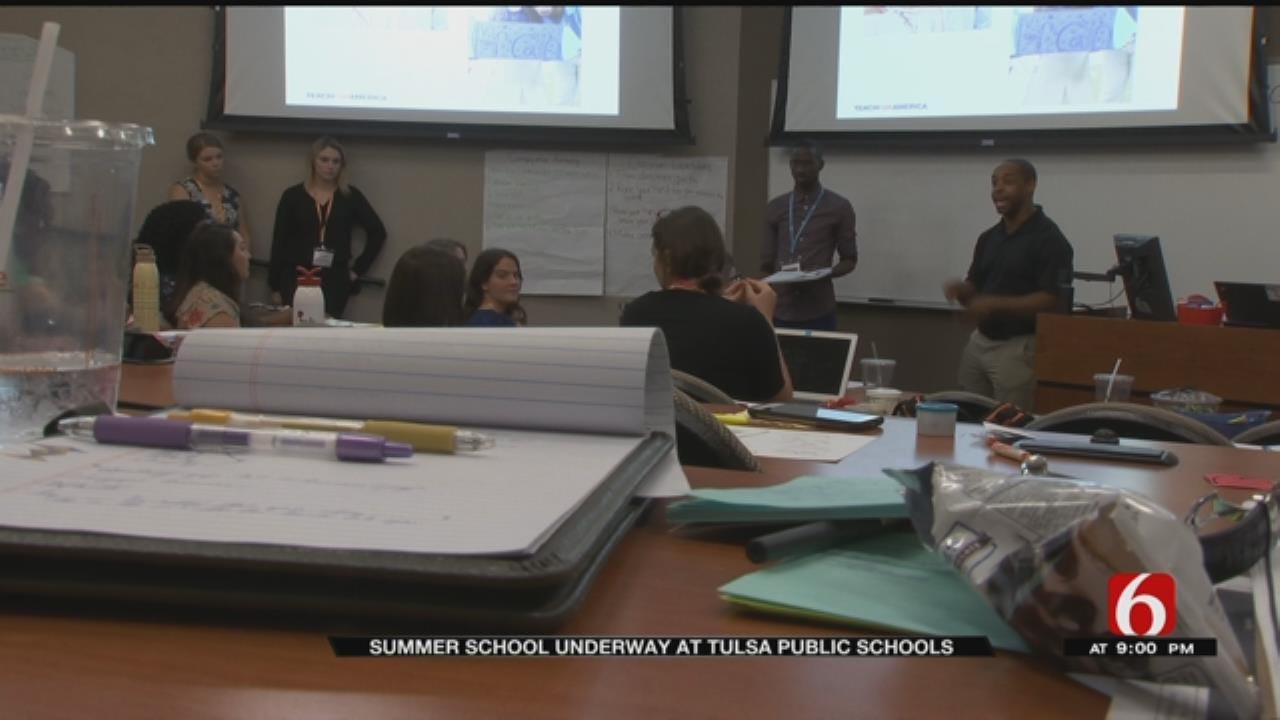 Tulsa Students, Teachers Gear Up For Summer School