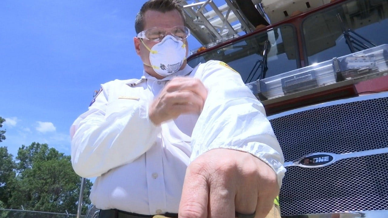 Tulsa Responders Take Caution In Midst Of Synthetic Opioid's Rise