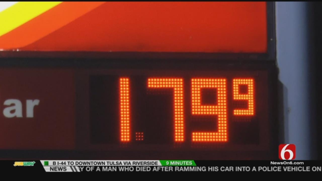 Tulsa Gas Prices Drop In Time For Holiday Travel