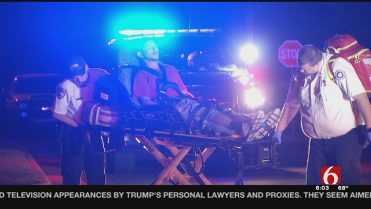 Driver Wrecks Trying To Avoid DUI Checkpoint, Tulsa Police Say