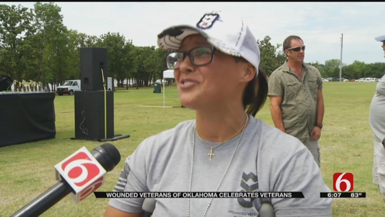 Oklahoma Organization Holds Celebration For Veterans
