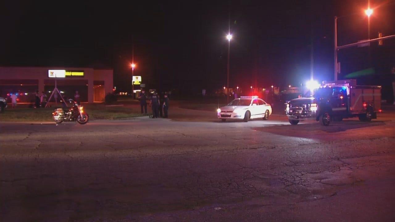 WEB EXTRA: Video From Scene Of Tulsa Motorcycle Crash
