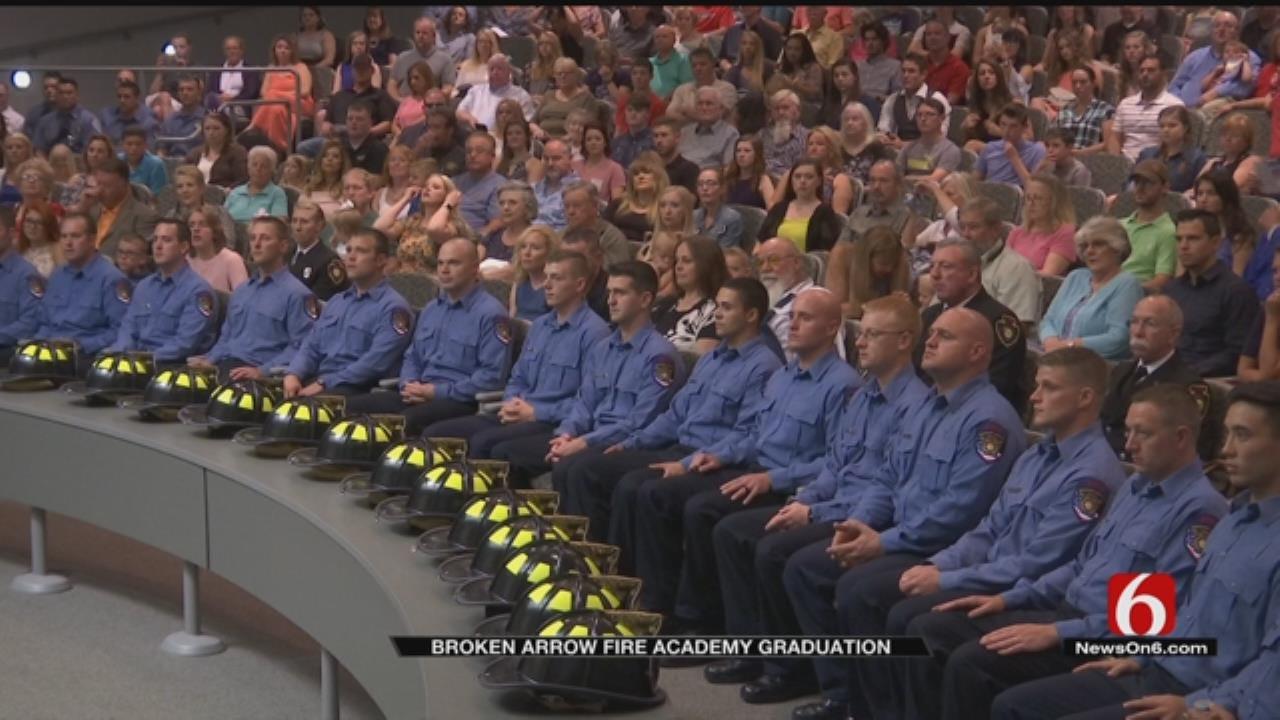 Broken Arrow Welcomes 19 Firefighters To Department