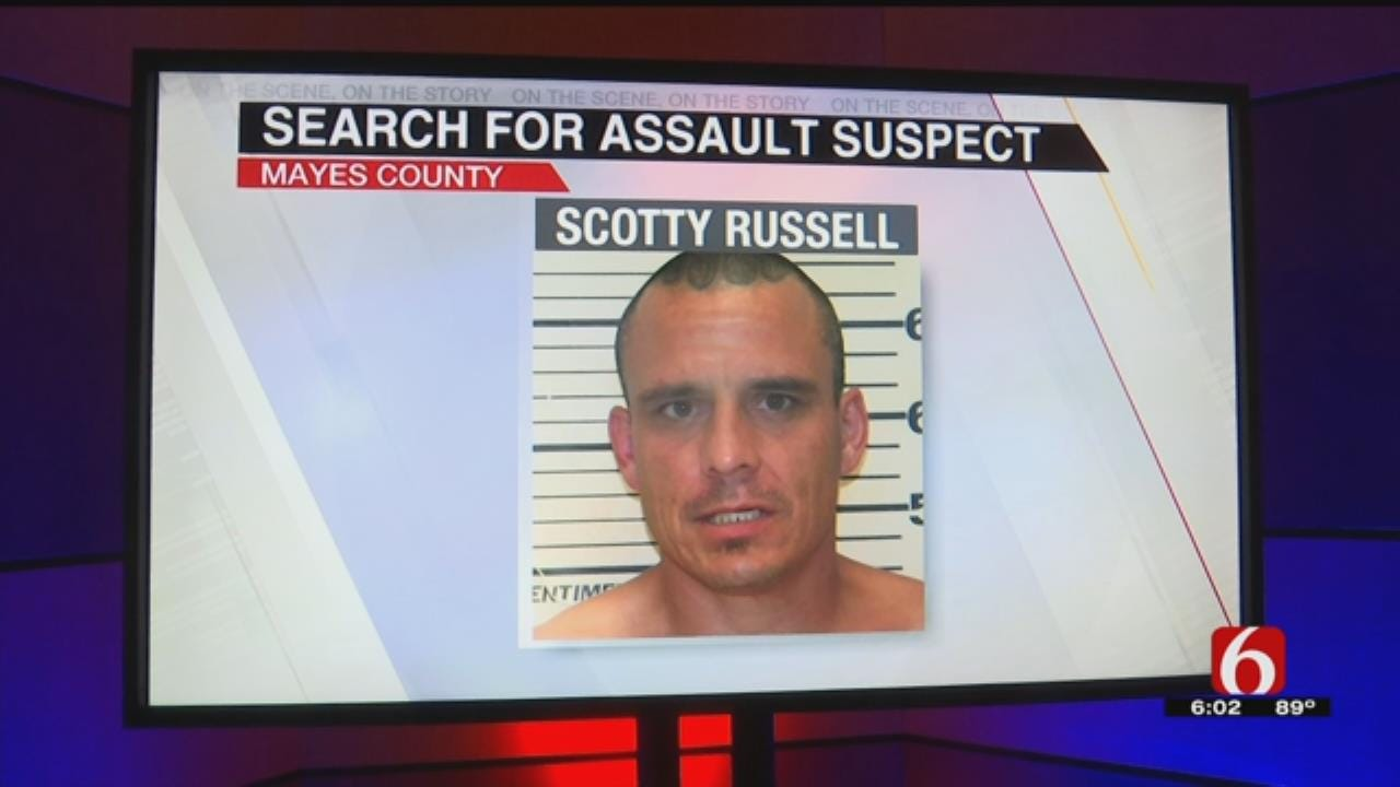 Man Accused Of Attacking 2 With Hatchet In Mayes County