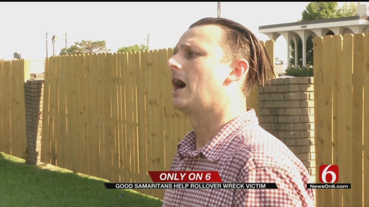 Registered Nurse Hears Wreck, Helps Save Tulsa Crash Victim