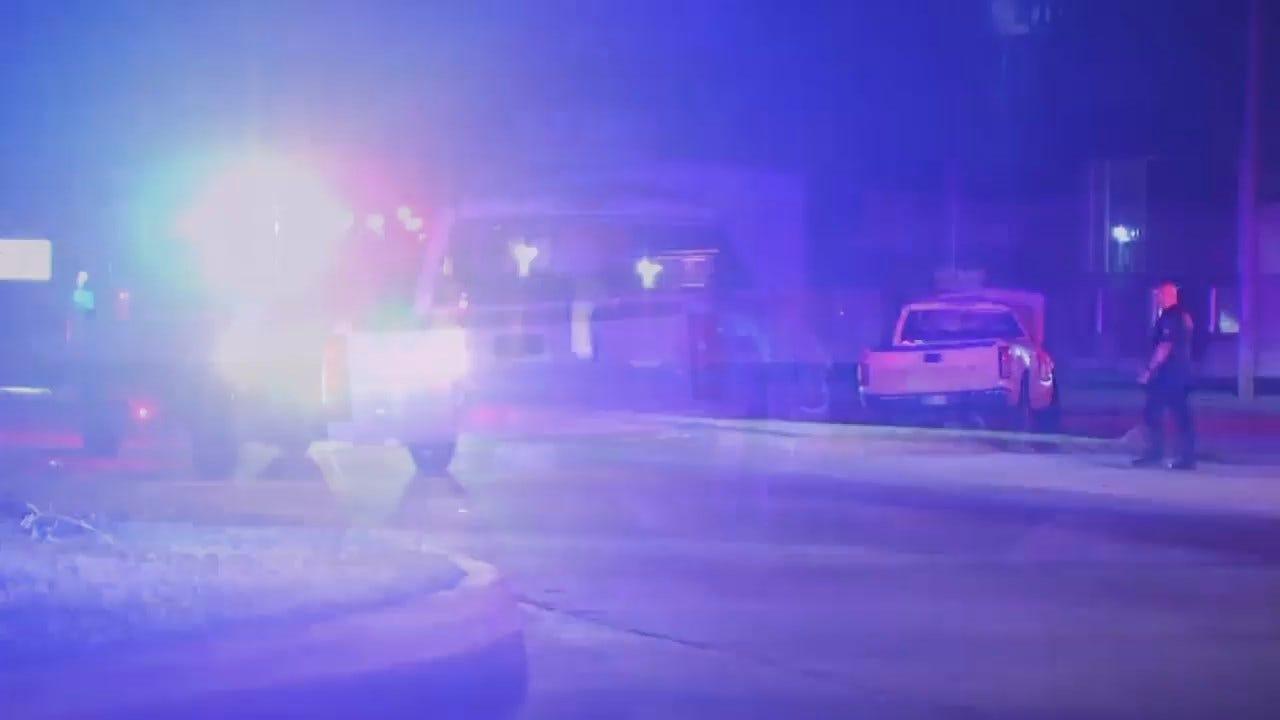 WEB EXTRA: Video From Scene Of Tulsa Rollover Injury Crash
