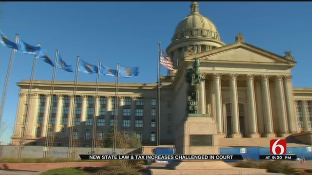 Lawsuits Argue Lawmakers Violated OK Constitution When Passing Budget