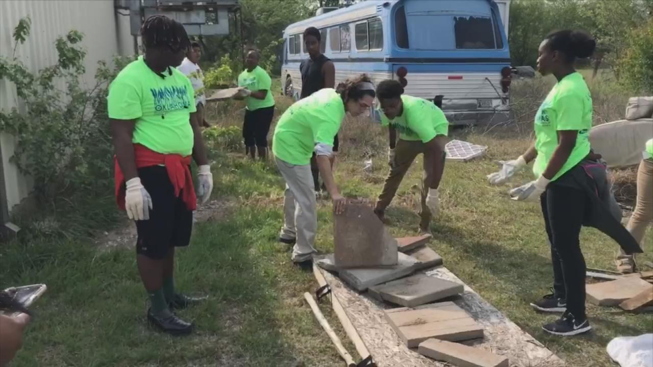 Tulsa Teens Continue Working Despite Theft Of Equipment