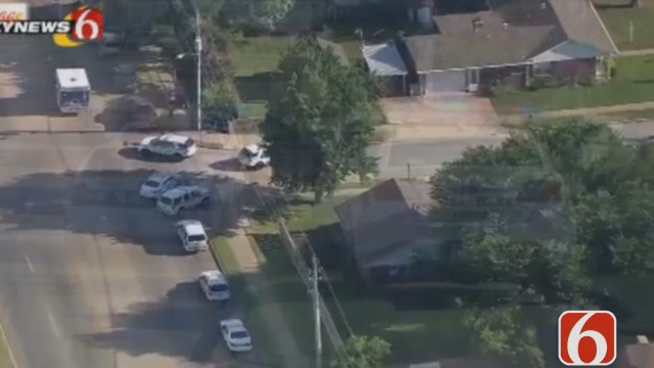 Dave Davis Has The Latest On A Tulsa Police Standoff Which Ended Peacefully