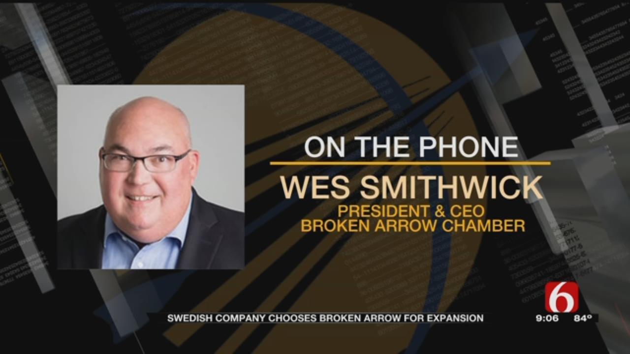 International Company Bringing Jobs To Broken Arrow